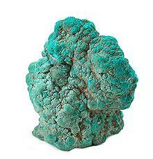 turquoise sample