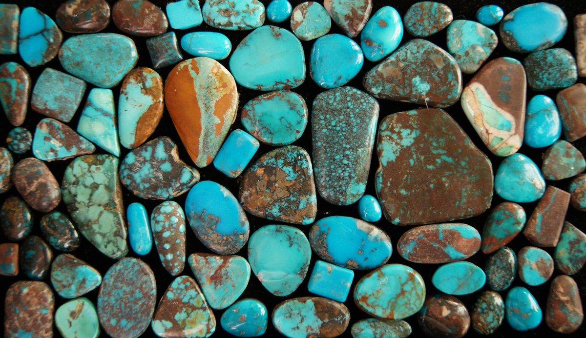 turquoise sampling