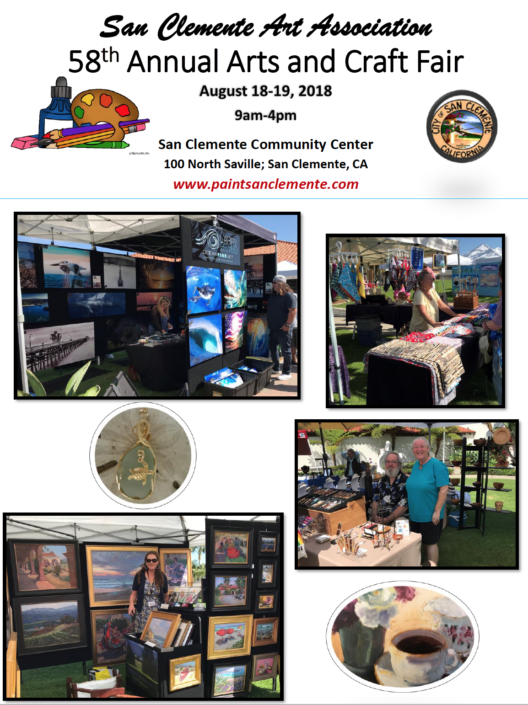 arts and crafts fair 2018 san clemente