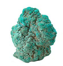 turquoise sample