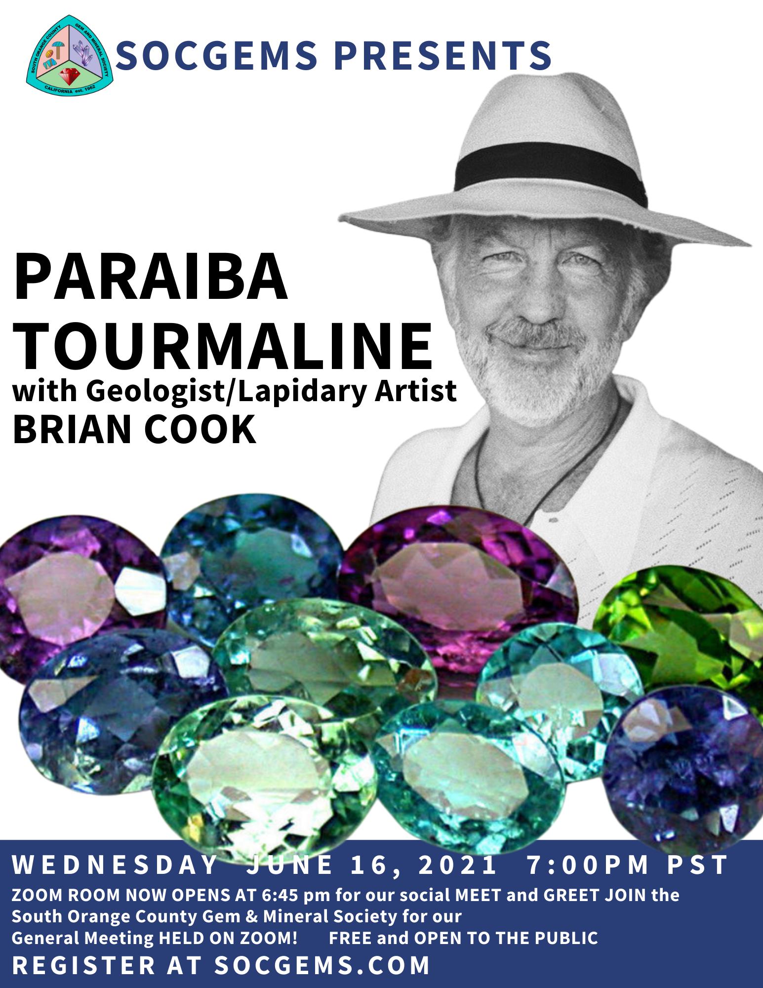 Brian Cook Paraiba Tourmaline